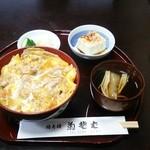 菊そば - 親子丼  並