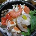 山紫苑 - 料理写真:海鮮鍋