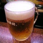 元祖廻る元禄寿司 - ビール