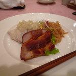 中国料理 南園 - 前菜3種盛り