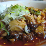 瑞鳳 - 炒め野菜、トウフなどがトッピ