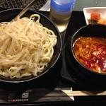 一頭買焼肉・ホルモン 醍醐 - 辛つけ麺¥780