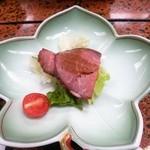 旅館 焼乃湯 - 飛騨牛のローストビーフ