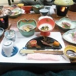 旅館 焼乃湯 - 夕食