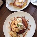 カフェ パンプルムゥス 仙台 - パンケーキとフレンチトースト