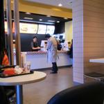 マクドナルド - ハンバーガーカウンター