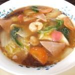 23553693 - 広東麺 700円 【 2014年1月 】