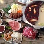 中國菜劉 - 料理写真:薬膳火鍋の食べ飲み放題コース
