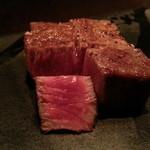 THE BEEF CLUB NISHIAZABU - 熟成肉フィレ(アップ)