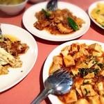 上海園林 - ランチ A定食  ¥1,575 ✖️2