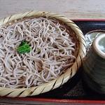 空っ風家 - 料理写真:もりそば 700円 (^^