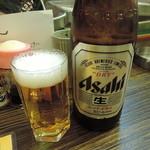 斉藤商店 - アサヒスーパードライ瓶ビール(中瓶)