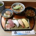 23556938 - 寿司&穴子丼