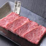 焼肉 まんまる - 薩摩牛のザブトン。一度食べたら忘れられない美味しさ。