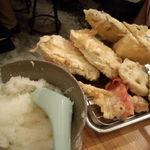 地魚屋台 とっつぁん - 天ぷら各種