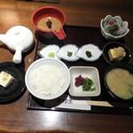 和食 懐石 京-miyako- - 鯛茶一式