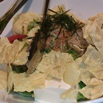 23558070 - 2013/11/21豆腐湯葉サラダ620円