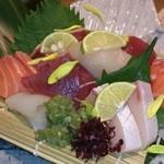 23558074 - 2013/11/21旬魚の五種盛1580円