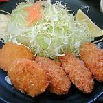 23559031 - カキフライミックス定食