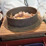 馳走家 とり壱 - 五目釜飯定食(五目釜飯)