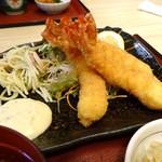 海鮮茶屋えびしま - エビフライ定食 2013.10月訪問