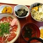 海鮮茶屋えびしま - てこね寿司 2013.10月訪問
