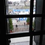 chano-ma - 窓辺から見えるスケートリンク
