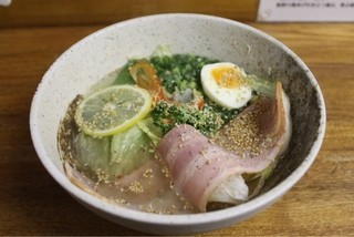 一蔵 ラーメン横丁店 - #010 @檸檬らーめん/塩700円