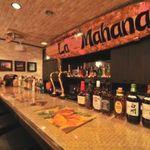 ラ・マハナ - 豊富なお酒が揃った、バーカウンター