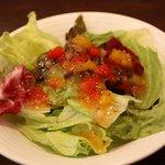 椿屋カフェ - サラダ