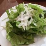 デカンターレ・ロッソ - サラダ