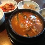 韓non - お昼のランチ〜海鮮スンドゥブ〜美味しかったです(^^)