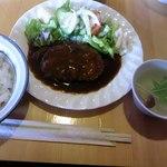 レストランれむの巣 - ハンバーグセット