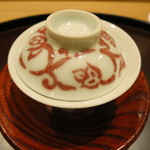 日本料理 太月 - このわた茶碗蒸し 器