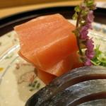 日本料理 太月 - 造り カジキ アップ