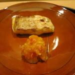 日本料理 太月 - ノドグロ塩焼き アンポ柿ナマス
