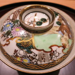 日本料理 太月 - 炊き合せ 器は古久谷