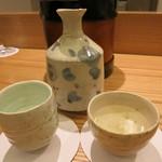 日本料理 太月 - 悦凱陣 香川 酒器は岡先生