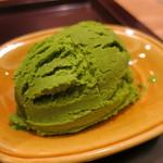 日本料理 太月 - デザート 抹茶アイス