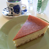 ツイートロッカ - 料理写真:ラムレーズンのチーズケーキ