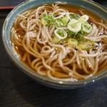 鶴岡屋 本店 - ミニ蕎麦は丼と一緒だと+¥200
