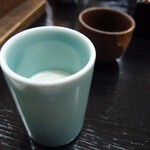 山の宿 新明館 - 地元小国の牛乳です。