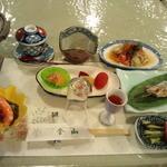 金山ヒュッテ - 2014/1 初日夕食