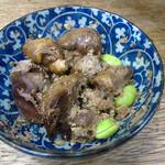 千石 - 鶏肝煮 \350