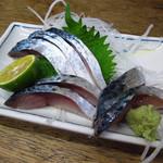 千石 - 鯖のきずし \350