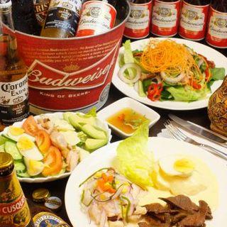 ★。,:*:JR五反田駅から徒歩5分 本格ペルー料理が味わえるお店:*:・°★