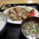一平食堂 - 料理写真:焼肉定食 1,000円
