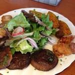 23581151 - ベーコンと野菜のサラダ