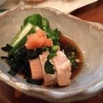 くいしん坊 魚国 - あん肝ポン酢