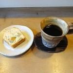 コーヒー がじゅまる - パウンドケーキ、コーヒー